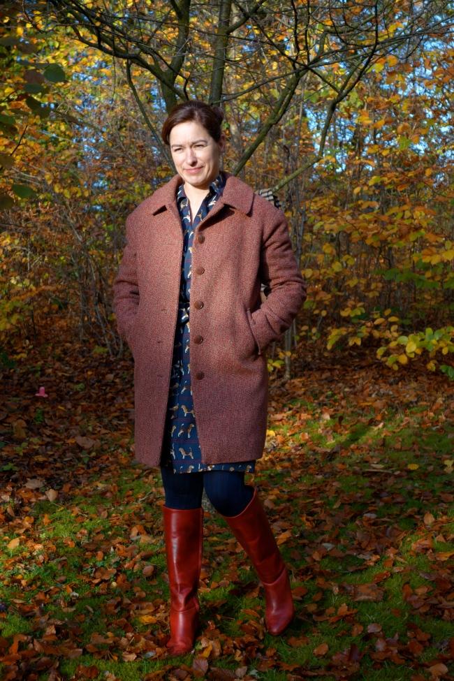 Ottobre Mantel ohne Schal